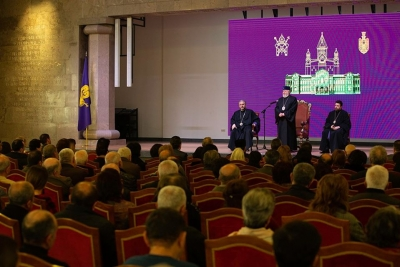 Armenian Round Table Foundation participated in the New Year's first meeting of  Catholicos of All Armenians