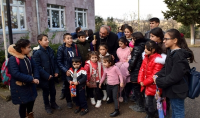 New Year Gifts Have Been Distributed in Artsakh, Artik, Ashtarak And Tavush With the Support of Armenia Round Table Foundation
