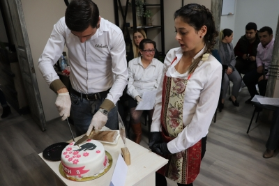 Graduation of Syrian and Local Participants in Pastry and Cake Making