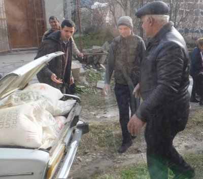 Armenia Round Table Foundation Provides Humanitarian Assistance to the Hailstorm Affected Communities in Lori and Shirak Regions