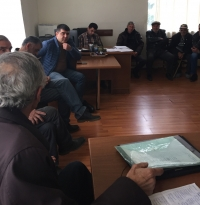 "Meeting in Berkaber for ""Jobs for Rural Youth in Armenia through Beekeeping"" project"