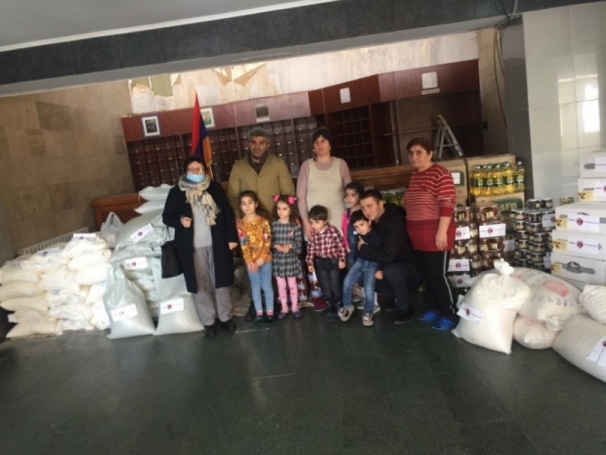 The Armenia Round Table Foundation Continues Artsakh family assistance programme in Kotayk, Armavir and Aragatsotn